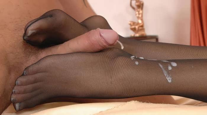 Фото футджоба ножки эротика