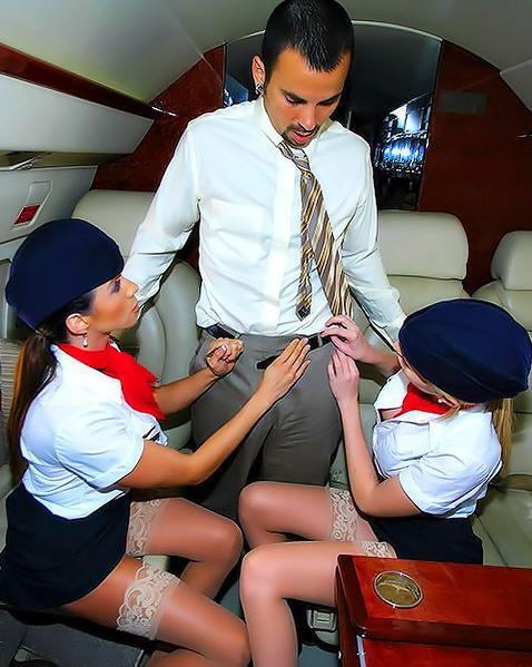 Фото стюардесса эротика